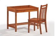 Zest Student Desk in Cherry Finish Product Image