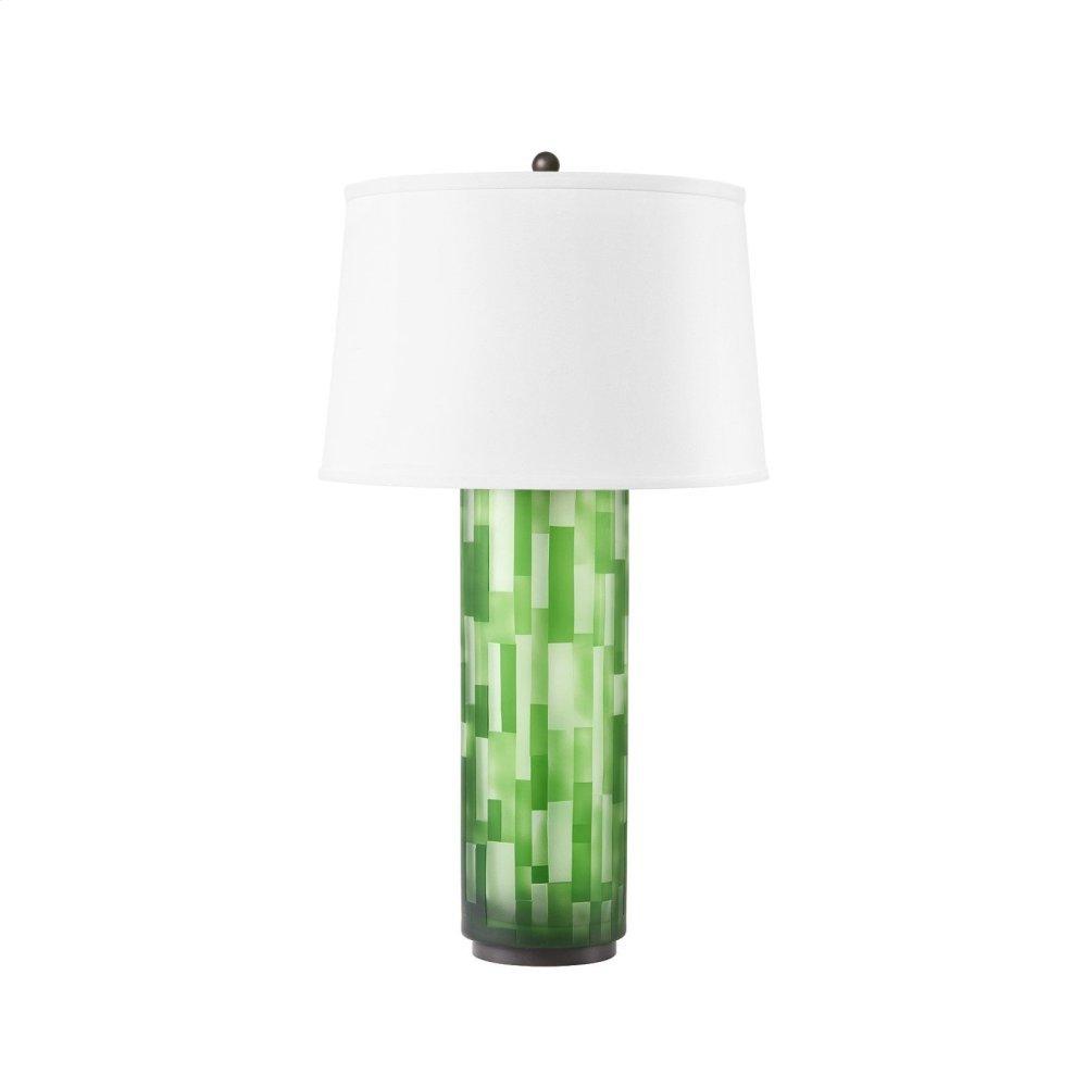 Colburn Lamp, Green