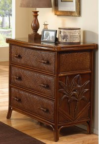 Havana Palm Three Drawer Chest Product Image