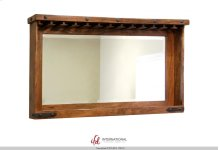 Mirror Bar w/Glass holders & Shelf