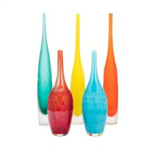 Kepla Glass Vases - Set of 5