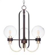 Bauhaus 3-Light Chandelier