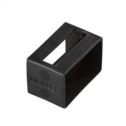 Tape Light U Track Endcap - Black BK