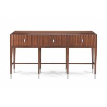 Atelier Console with Fluted Front
