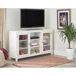 "Kith Furniture60"" White Folding TV Console"