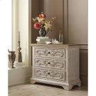 Elizabeth - Three Drawer Bachelor Chest - Smokey White/antique Oak Finish Product Image