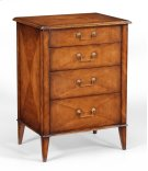 Satinwood Bedside Chest of Drawers Product Image