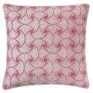 Deja Vu Pillow, BERRY, 22X22 Product Image