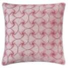 Deja Vu Pillow, BERRY, 22X22 Product Image