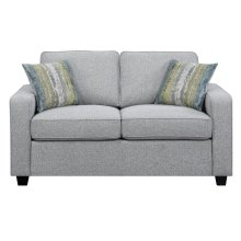 Brownswood Transitional Ash Loveseat
