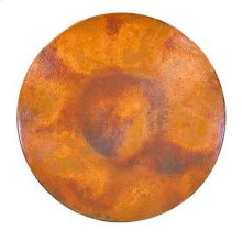 """48"""" Round Natural Copper Top"""