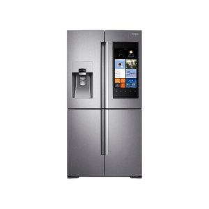 Samsung22 cu. ft. Counter Depth 4-Door Flex Refrigerator with Family Hub