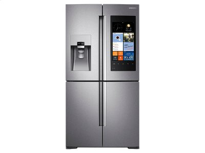 22 cu. ft. Counter Depth 4-Door Flex Refrigerator with Family Hub Close out Special Product Image