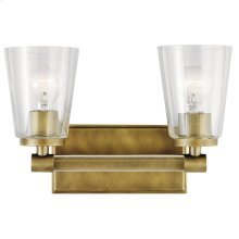 Audrea Collection Audrea 2 Light Bath Light NBR