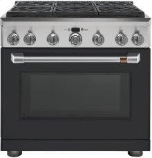 """Café 36"""" All Gas Professional Range with 6 Burners (Natural Gas)"""