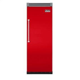 """Racing Red 30"""" Quiet Cool™ All Freezer - VIFB Tru-Flush™ (Right Hinge Door)"""