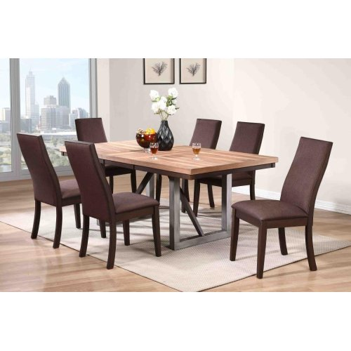Spring Creek Industrial Chocolate Dining Chair