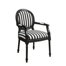 Accent Chair, Champion Black