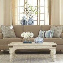 Regan - Coffee Table - Farmhouse White Finish