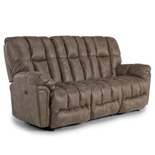 LUCAS Power Reclining Sofa W/Power Tilt Headrest