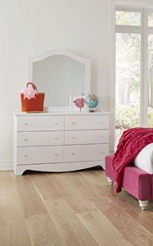 Gabby 6 Drawer Dresser & Mirror