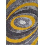 105 Gray Yellow Rug Product Image