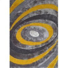 105 Gray Yellow Rug