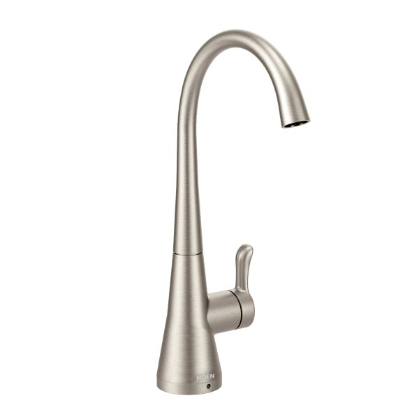 Sip Transitional spot resist stainless one-handle beverage faucet