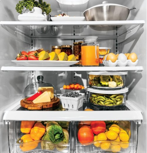 GE Artistry Series ENERGY STAR® 20.3 Cu. Ft. Bottom Freezer Refrigerator