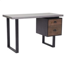 Den Desk Old Fir & Metal