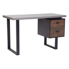 Den Desk Old Fir & Metal Product Image