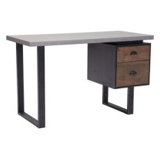 Den Desk Old Fir & Metal Product Image