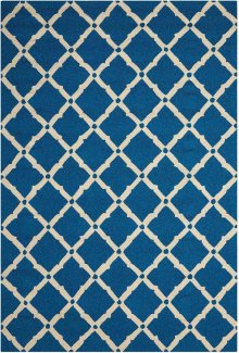 Portico Por01 Navy Rectangle Rug 5' X 7'6''