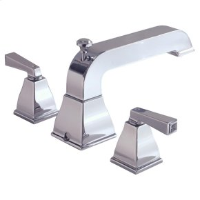 Town Square Deck-Mount Bathtub Faucet with FloWise Personal Shower - Brushed Nickel