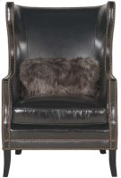 Kingston Wing Chair in Mocha (751) Product Image