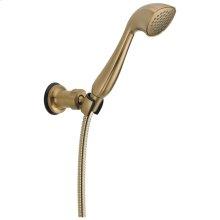 Champagne Bronze Premium Single-Setting Adjustable Wall Mount Hand Shower