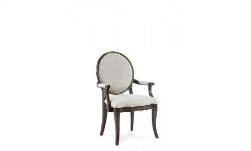 St. Germain Oval Back Arm Chair
