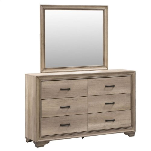 Sandy Ridge Dresser & Mirror