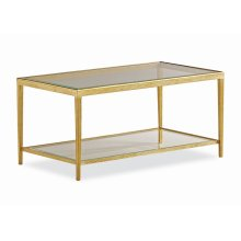 Jinx Brass Cocktail Table