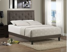 Becker King Bed Set - Black Brown