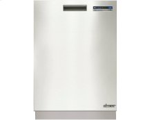 "Heritage 24"" Flush Dishwasher, Stainless Steel"