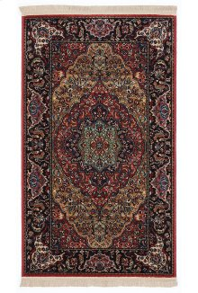 Medallion Kirman - Rectangle 2ft 6in x 4ft 3in