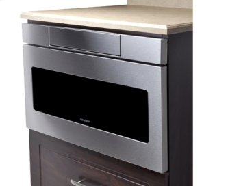 "24"" Microwave Drawer; Hidden Control Panel; Automatic Drawer Opening System"