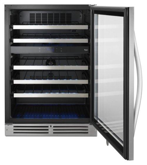 "24"" Undercounter Wine Center with Dual-Temperature Control"