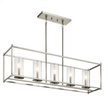 Crosby Collection Crosby 5 Light Linear Chandelier NI