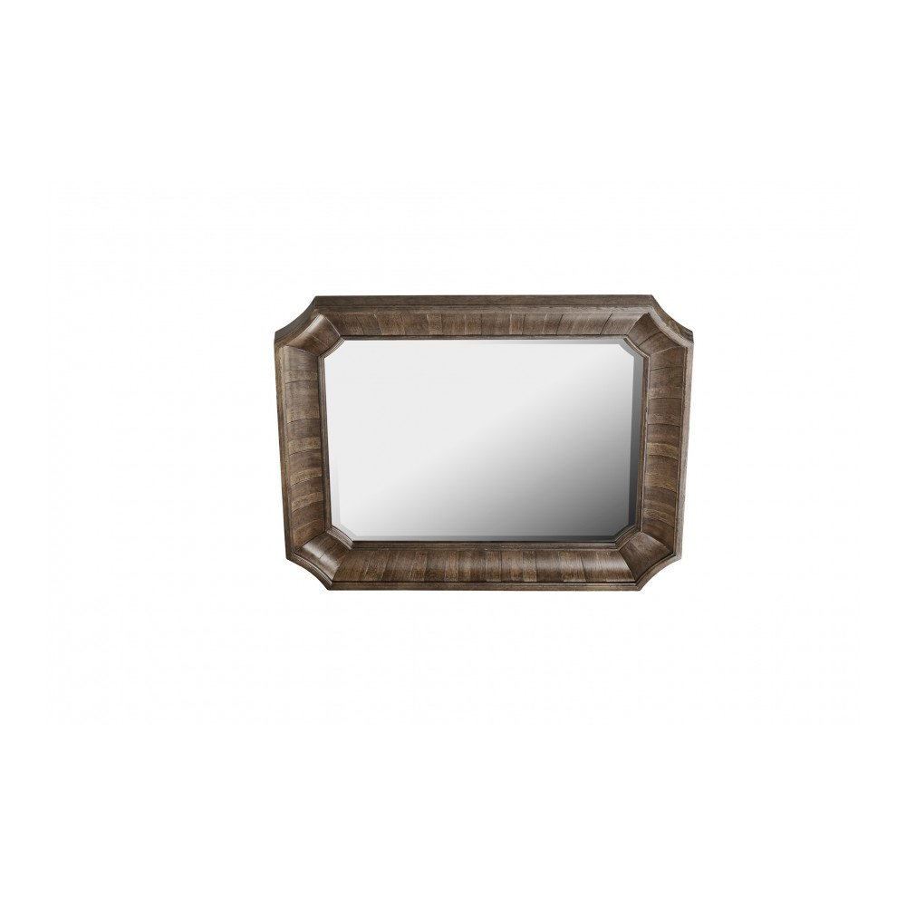 American Chapter Barrel Stave Mirror
