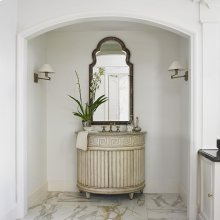 Fluted Sink Chest - Light