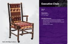 Hickory Executive Chair