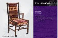 Hickory Executive Chair