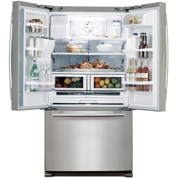 rf268abrs in stainless steel by samsung in wausau wi 26 cu ft rh grebesonline com Samsung Model RF268ABRS French Door Refrigerator Samsung Refrigerator Parts Diagram